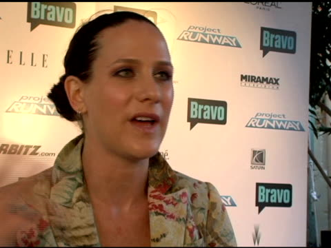 kara janx on the show being so well received the incredible experience of being on it staying friends with her castmates and advising the new... - project runway stock videos and b-roll footage