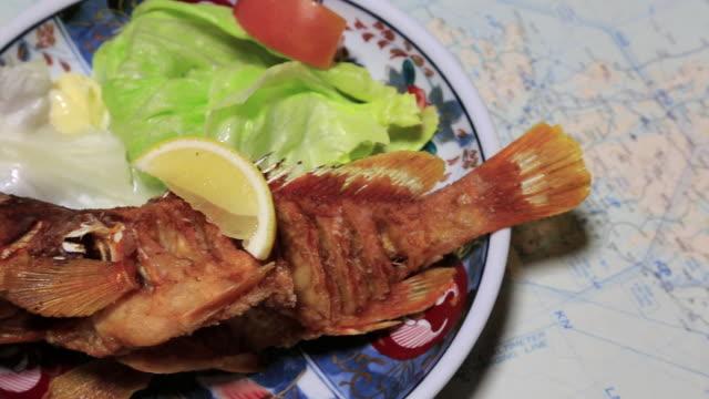 CU PAN Karaage of Hata of Regional cuisine of Ogasawara islands / Ogasawara Islands, Tokyo, Japan