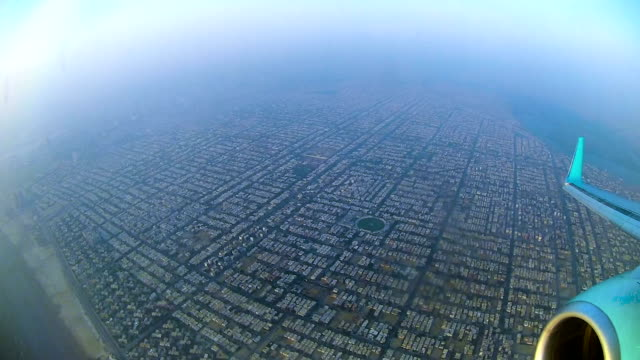 Karachi Aerial View from Plane