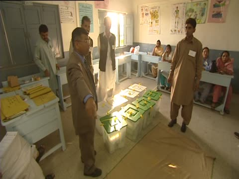 karachi on election day pakistan - karachi stock videos and b-roll footage