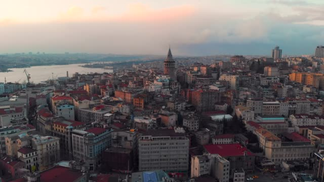 stockvideo's en b-roll-footage met karakoy district in istanboel - istanboel
