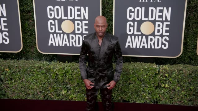 vídeos de stock, filmes e b-roll de karamo brown at the 77th annual golden globe awards at the beverly hilton hotel on january 05, 2020 in beverly hills, california. - karamo brown