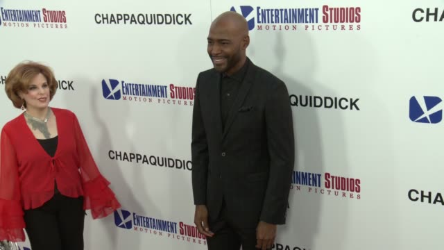 "vídeos de stock, filmes e b-roll de karamo brown at the ""chappaquiddick"" premiere at samuel goldwyn theater on march 28, 2018 in beverly hills, california. - karamo brown"