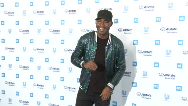 vídeos de stock, filmes e b-roll de karamo brown at the we day california celebrates 16,000 youth leading lasting change in america at the forum on april 25, 2019 in inglewood,... - karamo brown