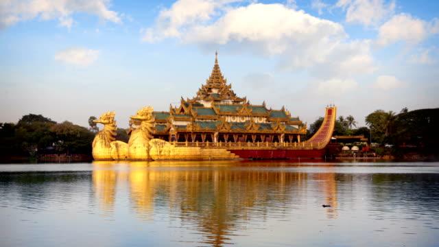 Karaweik palace, Yangon, Myanmar (Burma)