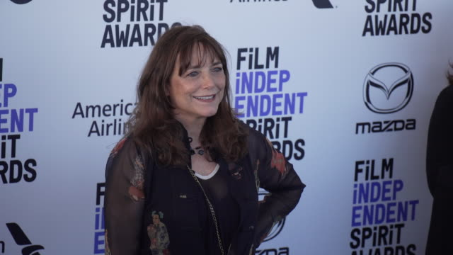 karen allen at the 2020 film independent spirit awards on february 08, 2020 in santa monica, california. - film independent spirit awards stock videos & royalty-free footage