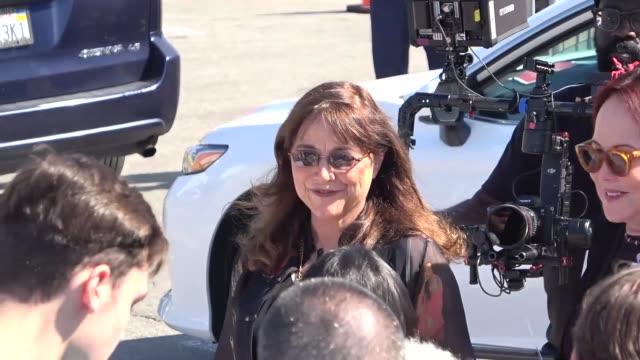 karen allen at the film independent spirit awards in santa monica at celebrity sightings in los angeles on february 08 2020 in los angeles california - film independent spirit awards stock videos & royalty-free footage