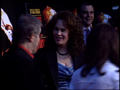 karen black at the 'house of 1000 corpses' premiere at arclight cinemas in hollywood california on april 9 2003 - house of 1000 corpses stock videos and b-roll footage
