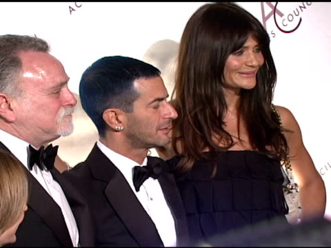 karen gibertson, ira greenhouse, marc jacobs, and helena christensen at the 11th annual ace awards at cipriani in new york, new york on november 5,... - マンハッタン チプリアーニ点の映像素材/bロール