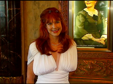 karen knotts at the los angeles opening of 'little women' at pantages theater in hollywood, california on august 2, 2006. - pantages theater stock videos & royalty-free footage
