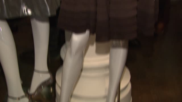karen millen display at the karen millen england flagship boutique launch and fashion show hosted by marylouise parker at karen millen england... - flagship store stock videos and b-roll footage