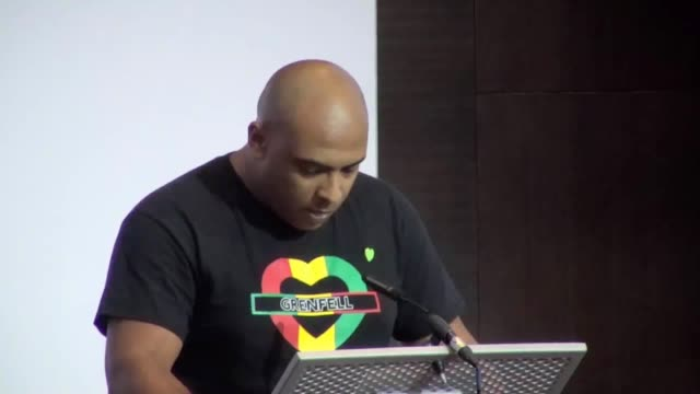 karim mussilhy a relative of grenfell tower victim hesham rahman won a standing ovation at the public inquiry for his defiant speech criticising the... - victim stock videos & royalty-free footage