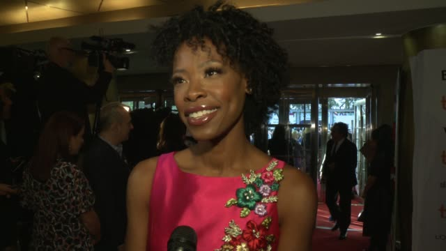 INTERVIEW Karimah Westbrook on how she would describe the film what it was like working with the Matt Damon Julianne Moore and George Clooney and how...