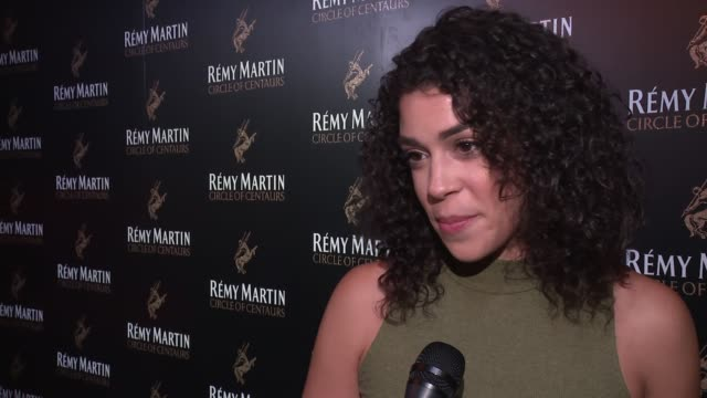 INTERVIEW Karina Ortiz on who her mentor is at The House of Remy Martin and Actress Jackie Cruz celebrate launch of 2016 Circle of Centaurs at The...