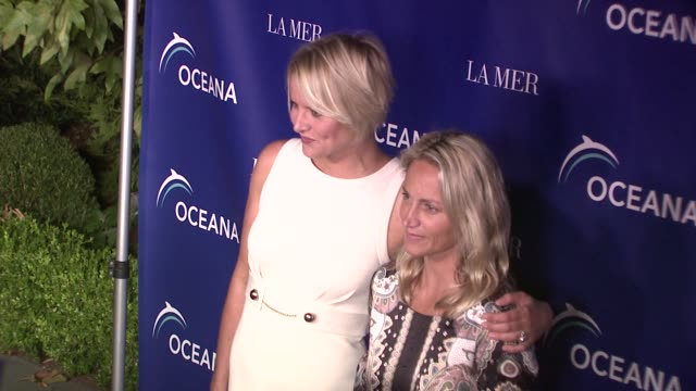 karina petroni at the oceana's annual partners award gala honoring former president bill cli at los angeles ca - oceana stock videos & royalty-free footage