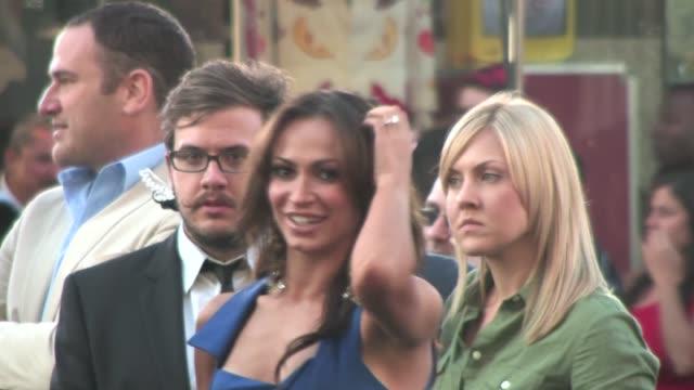 karina smirnoff at green lantern premiere in hollywood - karina smirnoff stock videos & royalty-free footage