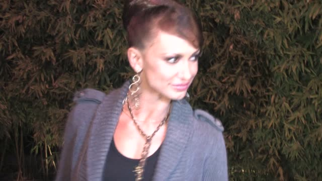 karina smirnoff at koi in west hollywood at the celebrity sightings in los angeles at los angeles ca - karina smirnoff stock videos & royalty-free footage