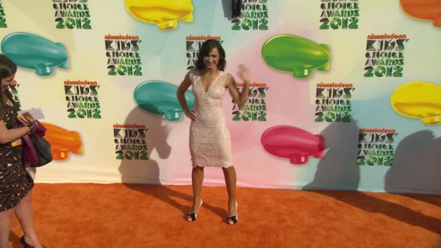 Karina Smirnoff at Nickelodeon's 25th Annual Kids' Choice Awards on 3/31/2012 in Los Angeles CA