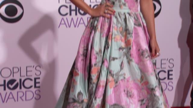 Karina Smirnoff at People's Choice Awards 2015 in Los Angeles CA