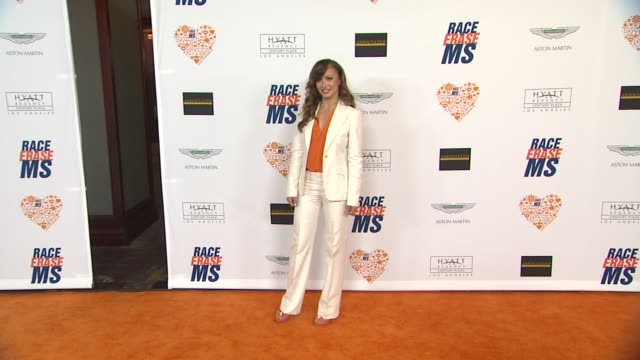 karina smirnoff at the 21st annual race to erase ms in los angeles ca - karina smirnoff stock videos & royalty-free footage