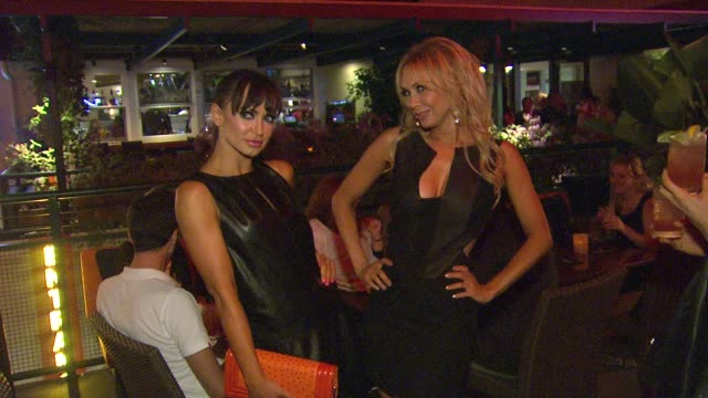 karina smirnoff kym johnson at joey fatone and kym johnson host after party for premiere of dancing with the stars at mixology 101 on 9/24/12 in los... - premiere video stock e b–roll