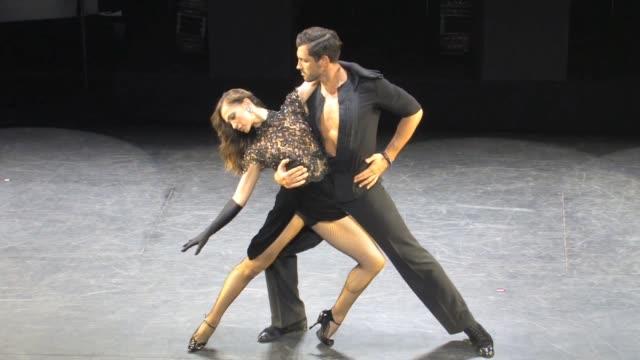 karina smirnoff maksim chmerkovskiy dance at forever tango at walter kerr theatre and karina has clothing malfunction in new york 07/1/13 karina... - karina smirnoff stock videos & royalty-free footage