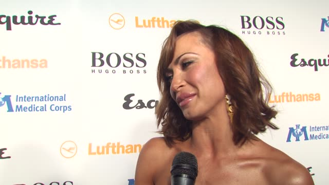 karina smirnoff on tonight's event, on getting kicked off dancing with the stars this week, on working with mike 'the situation', on who she thinks... - 独身男性点の映像素材/bロール