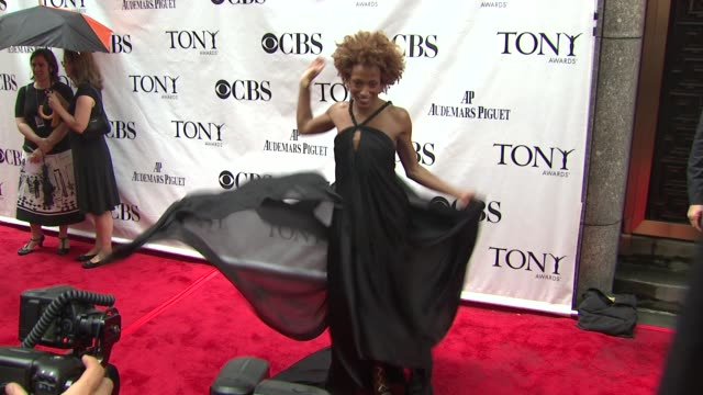 Karine Plantadit at the 64th Annual Tony Awards at New York NY