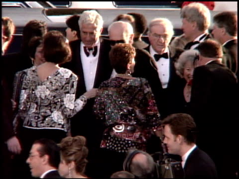 karl malden at the 1995 academy awards arrivals at the shrine auditorium in los angeles, california on march 27, 1995. - 67th annual academy awards stock videos & royalty-free footage