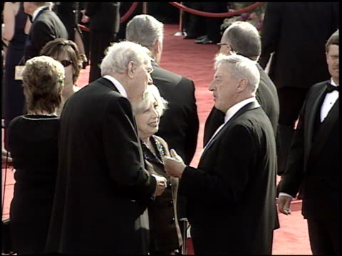 karl malden at the 2001 academy awards at the shrine auditorium in los angeles california on march 25 2001 - 73rd annual academy awards stock videos & royalty-free footage