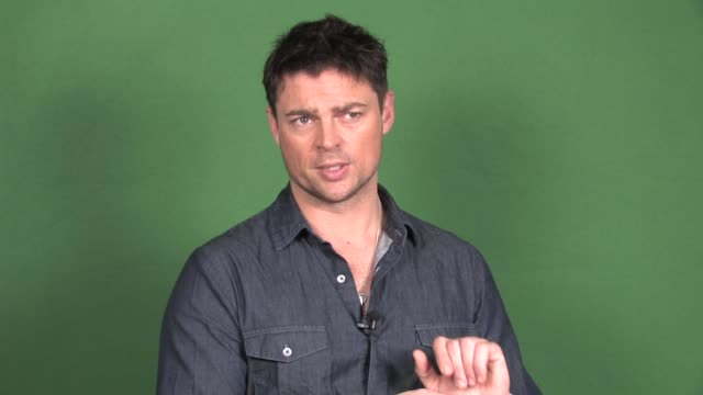 karl urban interview on 'dredd' at new york daily news on july 10 2012 in new york ny - new york daily news stock videos and b-roll footage