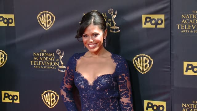 Karla Mosley at 42nd Annual Daytime EMMY Awards at Warner Bros Studios on April 26 2015 in Burbank California