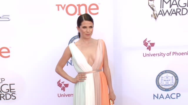 stockvideo's en b-roll-footage met karla souza at the 46th annual naacp image awards - arrivals at pasadena civic auditorium on february 06, 2015 in pasadena, california. - pasadena civic auditorium