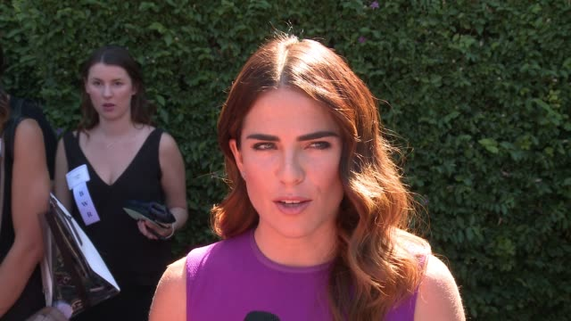 INTERVIEW Karla Souza on supporting her mentor friend and colleague Viola Davis and how important it is to support this cause on the Rape Foundation...