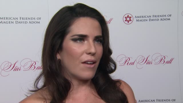 INTERVIEW Karla Souza on the importance of attending the event and the upcoming season of How to Get Away with Murder at American Friends Of Magen...
