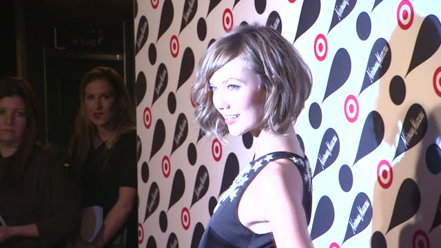karlie kloss at target neiman marcus holiday collection launch event karlie kloss at target neiman marcus holiday col on november 28 2012 in new york... - neiman marcus stock videos & royalty-free footage