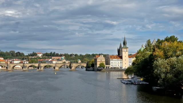 karlsbrücke - stare mesto stock videos & royalty-free footage