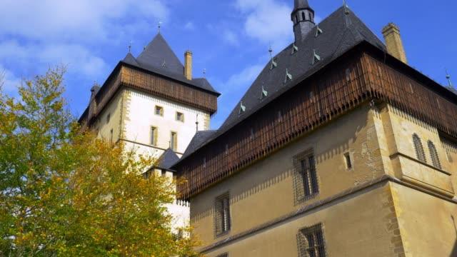 Karlštejn Castle (Hhrad Karlštejn, Burg Karlstein) In Bohemia