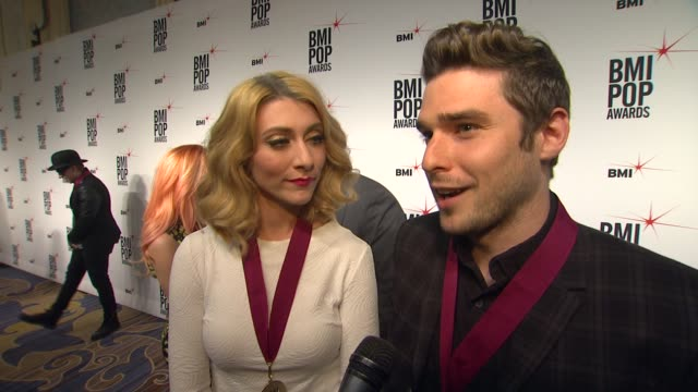 karmin on how they feel to be receiving this honor from bmi, the first record that inspired them to start writing, an artist or songwriter that they... - songwriter stock videos & royalty-free footage