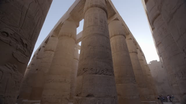 karnak, luxor, egypt - luxor thebes stock videos & royalty-free footage