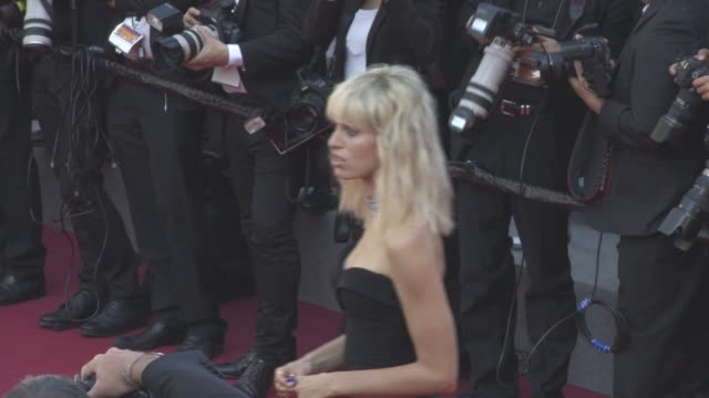 karolina kurkova at 'based on a true story' red carpet official screening on may 27 2017 in cannes france - karolina kurkova stock videos and b-roll footage