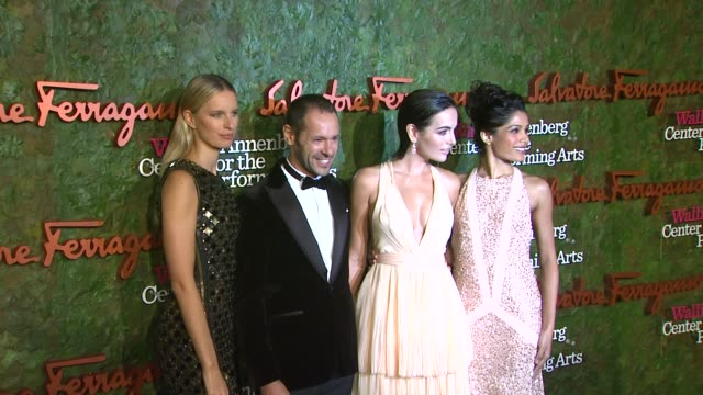 karolina kurkova camilla belle freida pinto at wallis annenberg center for the performing arts inaugural gala presented by salvatore ferragamo on... - karolina kurkova stock videos and b-roll footage