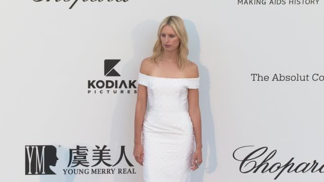 Karolína Kurková at the amfAR Cannes Gala 2019 Arrivals at Hotel du CapEdenRoc on May 23 2019 in Cap d'Antibes France