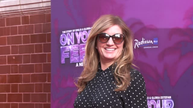 karren brady at the london coliseum on june 27 2019 in london england - london coliseum stock videos and b-roll footage