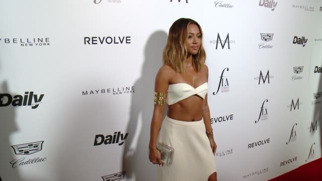 Karrueche Tran at the The Daily Front Row Hosts 2nd Annual Fashion Los Angeles Awards at Sunset Tower on March 20 2016 in West Hollywood California