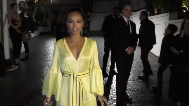 Karrueche Tran at the W Magazine Celebrates Its 'Best Performances' Portfolio and the Golden Globes at Chateau Marmont in West Hollywood in Celebrity...