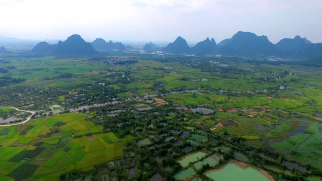 karst area of the sunset. - yunnan province stock videos and b-roll footage