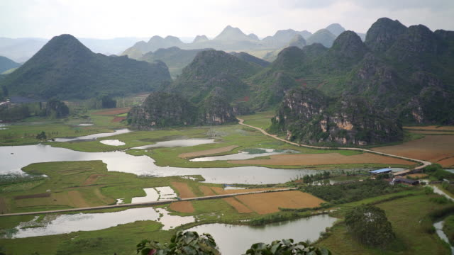 karst formation in yunnan - karst formation stock videos & royalty-free footage