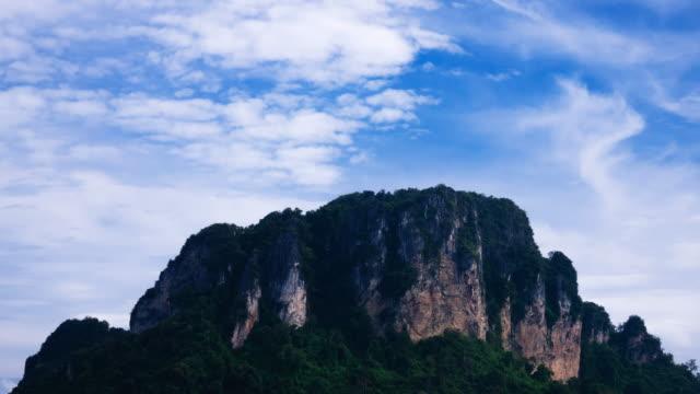 karst formation poda island - thailand - karst formation stock videos & royalty-free footage