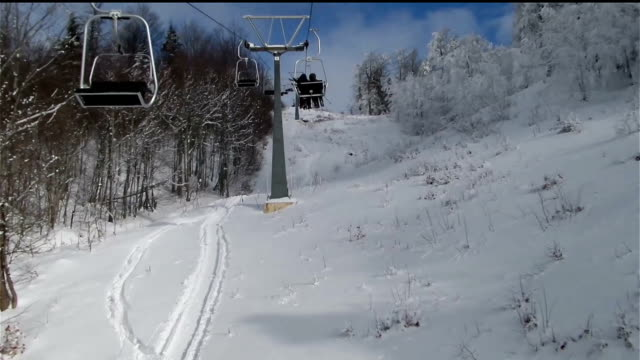 Kartepe Cable Chair Hyperlapse